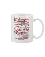 Snowman to my mother never forget I love you mug Mug front