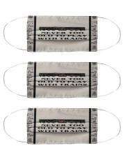 Never too old to play with trains face mask Cloth Face Mask - 3 Pack front