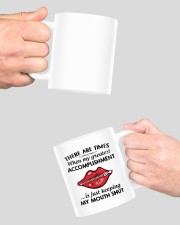 There are time when my greatest accomplishment mug Mug ceramic-mug-lifestyle-42