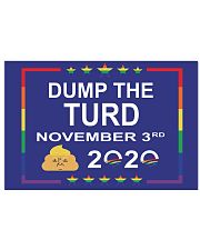 Dump the turd November 3rd 2020 yard sign 17x11 Poster thumbnail