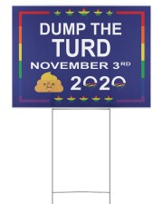 Dump the turd November 3rd 2020 yard sign Yard Signs tile