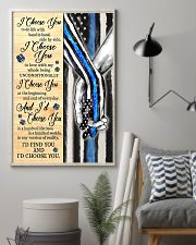 Blue Police I choose you to do life poster  11x17 Poster lifestyle-poster-1