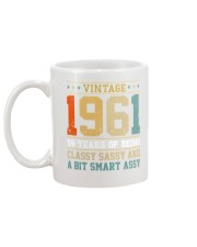Vintage 1961 59 years of being classy sassy Mug back