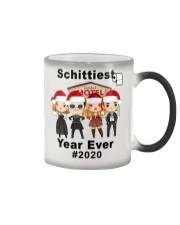 Schitt's creek Schittiest year ever 2020 mug Color Changing Mug tile