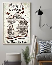 Missing you always I watch you everyday poster 11x17 Poster lifestyle-poster-1