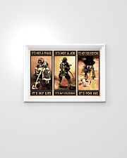 Firefighter it's not a phase it's my life poster 24x16 Poster poster-landscape-24x16-lifestyle-02