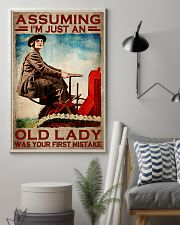 Assuming I'm just an old lady was your first mistake poster 11x17 Poster lifestyle-poster-1