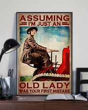 Assuming I'm just an old lady was your first mistake poster 11x17 Poster lifestyle-poster-2