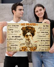 MSPayer before I lay me down to sleep poster 24x16 Poster poster-landscape-24x16-lifestyle-21