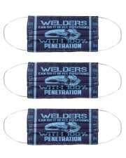 Wekders can do it all positions with penetrat Cloth Face Mask - 3 Pack front