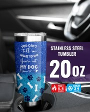 You cant tell me what to do you not my dog tumbler 20oz Tumbler aos-20oz-tumbler-lifestyle-front-39