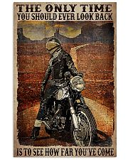 Motorcycle The only time you should ever poster 11x17 Poster front