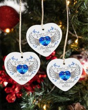 I'm Not A Widow I'm A Wife ornament Heart ornament - 3 pieces (porcelain) aos-heart-ornament-3-pieces-porcelain-lifestyles-02