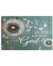 Dragonfly Be still and know that I am god poster 24x16 Poster front