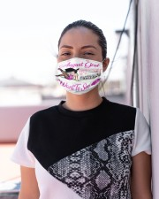I am August girl the quiet and sweet the funny Cloth Face Mask - 3 Pack aos-face-mask-lifestyle-04