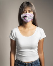 I am August girl the quiet and sweet the funny Cloth Face Mask - 3 Pack aos-face-mask-lifestyle-15