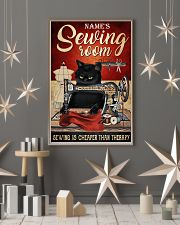 Sewing room sewing is cheaper than therapy poster 11x17 Poster lifestyle-holiday-poster-1