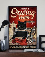 Sewing room sewing is cheaper than therapy poster 11x17 Poster lifestyle-poster-2