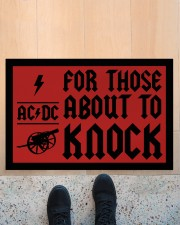 """For those about to knock doormat Doormat 22.5"""" x 15""""  aos-doormat-22-5x15-lifestyle-front-10"""