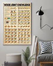 Wood joint knowledge poster 11x17 Poster lifestyle-poster-1