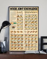Wood joint knowledge poster 11x17 Poster lifestyle-poster-2