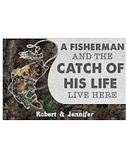 A fisherman and the catch of his life poster 24x16 Poster front