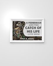 A fisherman and the catch of his life poster 24x16 Poster poster-landscape-24x16-lifestyle-02