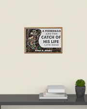 A fisherman and the catch of his life poster 24x16 Poster poster-landscape-24x16-lifestyle-09