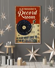 Record room vinyl because nobody asks to poster 11x17 Poster lifestyle-holiday-poster-1