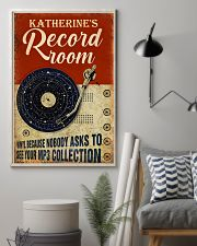 Record room vinyl because nobody asks to poster 11x17 Poster lifestyle-poster-1