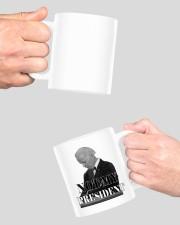 Joe Biden not my president mug Mug ceramic-mug-lifestyle-42