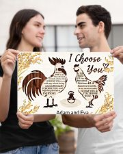Chicken I choose you custom name poster 17x11 Poster poster-landscape-17x11-lifestyle-20