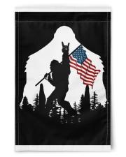 "Bigfoot Ammerican flag 11.5""x17.5"" Garden Flag front"