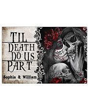 Skeleton til death do us part poster 24x16 Poster front