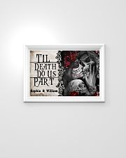 Skeleton til death do us part poster 24x16 Poster poster-landscape-24x16-lifestyle-02