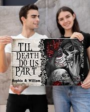 Skeleton til death do us part poster 24x16 Poster poster-landscape-24x16-lifestyle-21