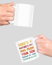 Here's a mother's day mug from your son mug Mug ceramic-mug-lifestyle-42