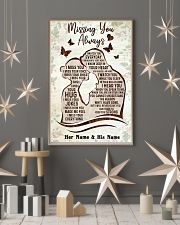 Missing you always I watch you everyday poster 11x17 Poster lifestyle-holiday-poster-1