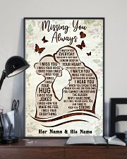 Missing you always I watch you everyday poster 11x17 Poster lifestyle-poster-2