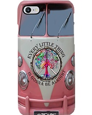 Pink truck every little thing is gonna be alright Phone Case i-phone-7-case