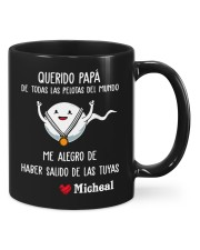 Querido papa de todas las pelotas del mundo mug Mug front