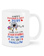 Happy mothers day mom thank you for everything mug Mug front