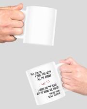 I love you with all my boobs mug Mug ceramic-mug-lifestyle-42