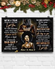 We're a team whatever you lack I got you poster 24x16 Poster aos-poster-landscape-24x16-lifestyle-29