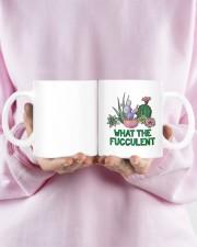 Cactus what the fucculent mug Mug ceramic-mug-lifestyle-28