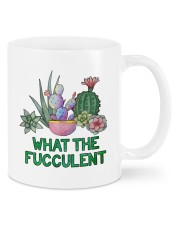 Cactus what the fucculent mug Mug front