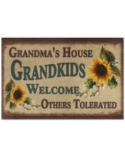 """Grandma's house grandkids welcome doormat Doormat 22.5"""" x 15""""  front"""