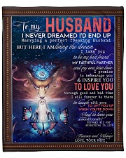 "Wolf to my husband I never dreamed end up blanket Fleece Blanket - 50"" x 60"" front"