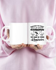 Sometimes you forget an awesome veterinarian mug Mug ceramic-mug-lifestyle-28