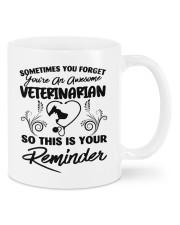 Sometimes you forget an awesome veterinarian mug Mug front